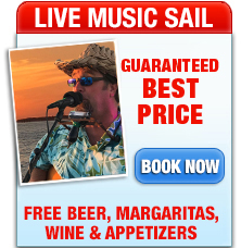 Guitarist on Key West Sunset Cruise